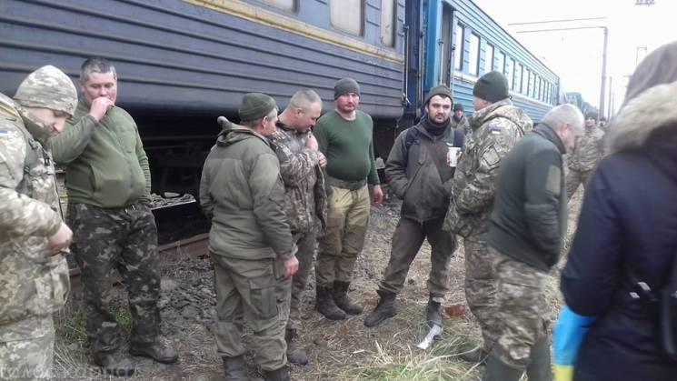 До Закарпаття із АТО повернулися артилеристи 128-ї бригади