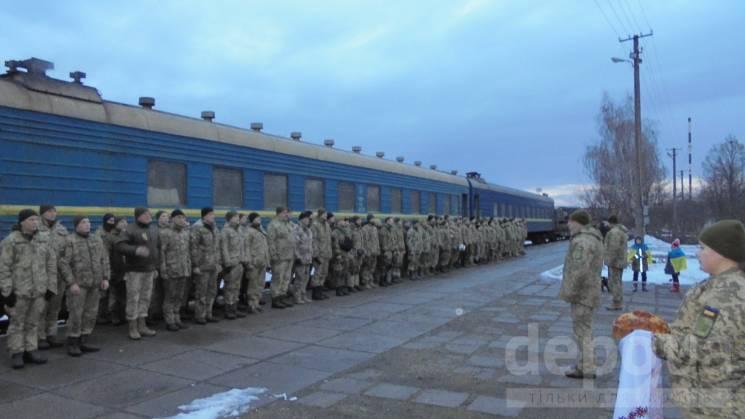 Гайсинська 59-та бригада повертається з передової додому (ФОТО)