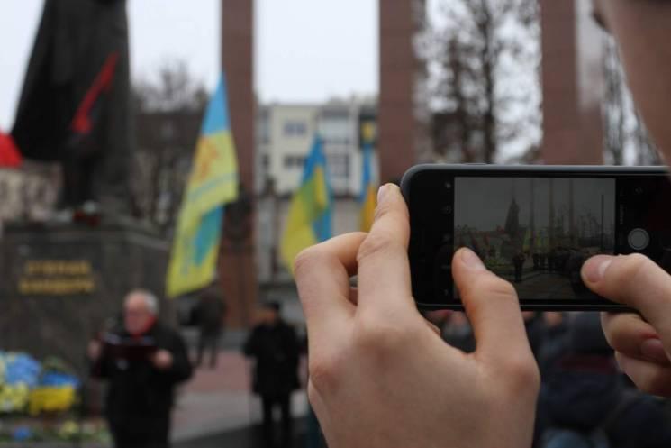 Як у Львові згадали Бандеру (ФОТОРЕПОРТАЖ)
