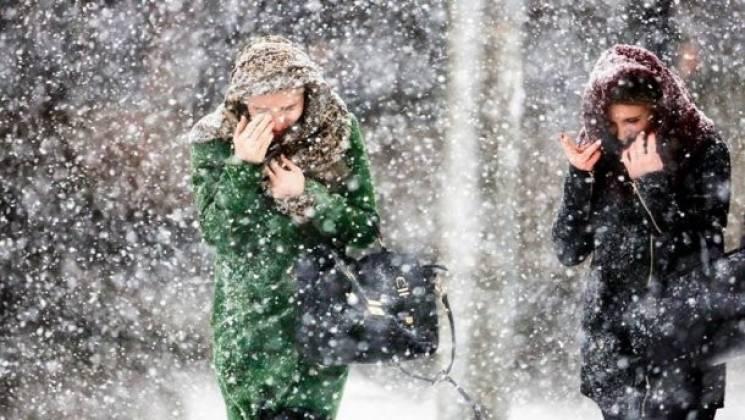 Штормове попередження: На Закарпатті очікуються сильні снігопади і вітер