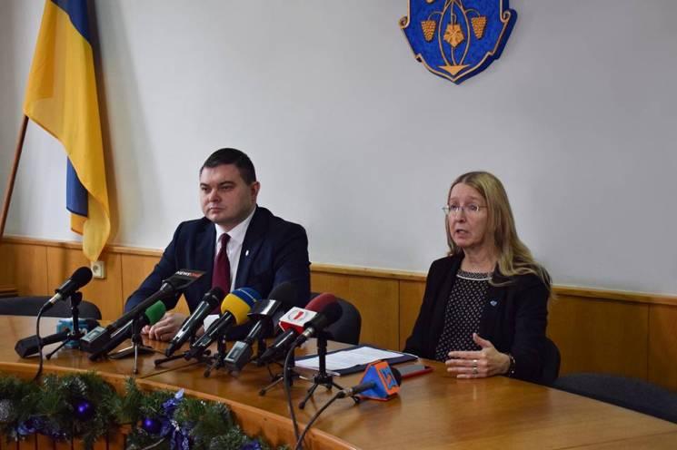 Супрун анонсувала кампанію з вакцинації проти кору на Закарпатті (ФОТО)