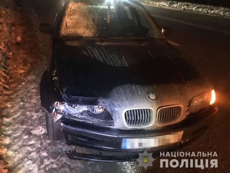 На Харківщині водій BMW задавив пішохода (ФОТО)