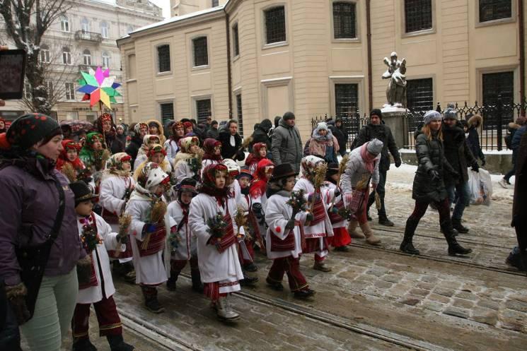 Як у Львові дали старт Різдву (ФОТОРЕПОРТАЖ)