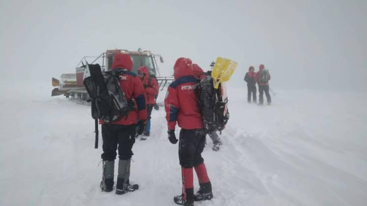 Рятувальники опублкували фото з пошуків заблукалих у Карпатах туристів