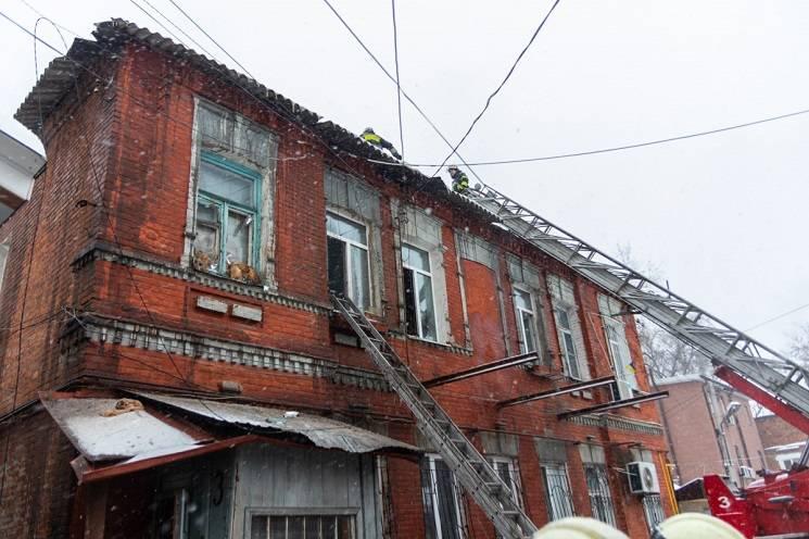 У центрі Дніпра через пожежу евакуювали…