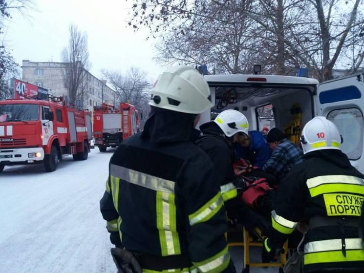 У Херсоні під час пожежі постраждав власник квартири (ФОТО)