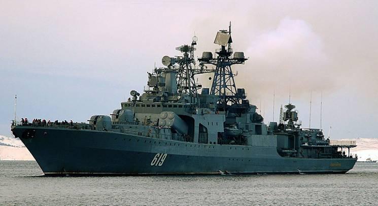 """Теория игр: Зачем Россия направила в Черное море ударный эсминец """"Североморск"""""""