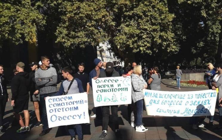 Земельні підсумки року в Одесі: Санаторі…