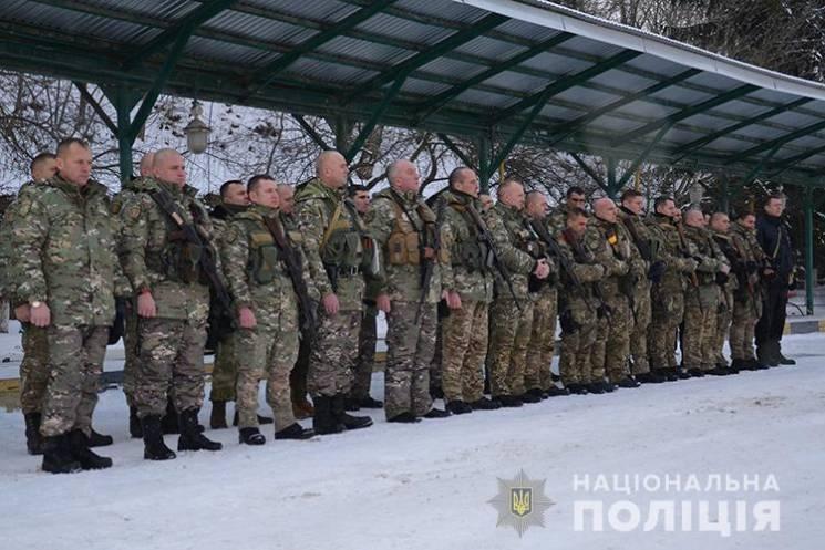 У зону ООС поїхали поліцейські Тернопільщини (ВІДЕО)