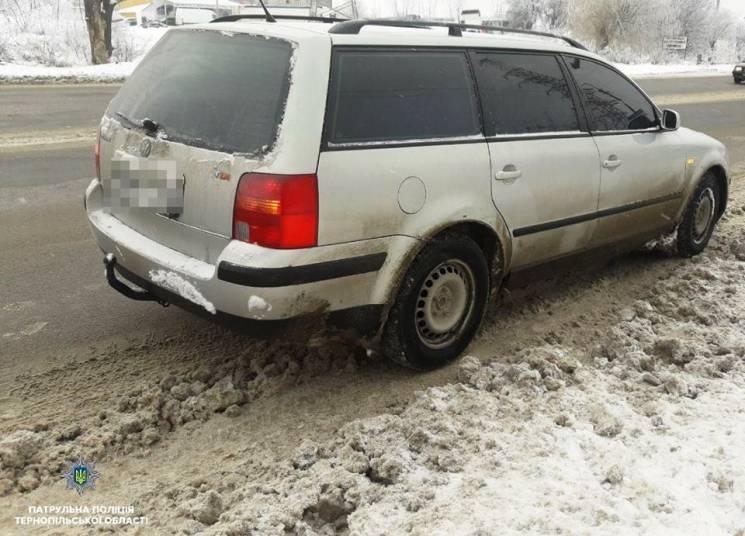 У Тернополі піймали одразу двох водіїв з фіктивними документами