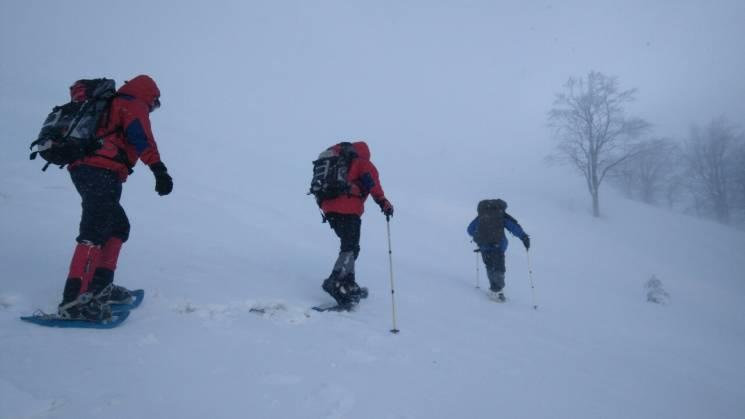Рятувальники цілу ніч шукали зниклого в Карпатах лижника (ВІДЕО)