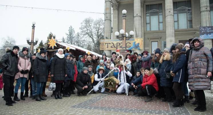 На Тернопільщині відсвяткували Різдво 72 дітей з Донецької та Луганської областей (ФОТО)