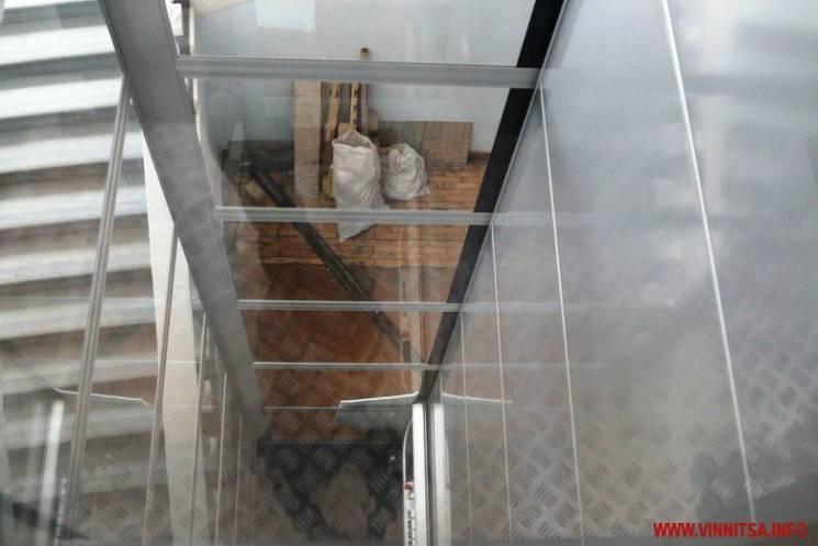 В обласній раді встановили прозорий ліфт (ФОТО)