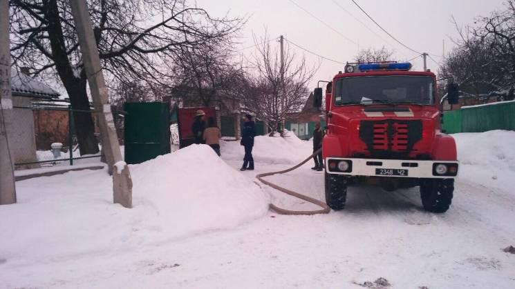 У селі під Вінницею під час пожежі обгорів чоловік (ФОТО)