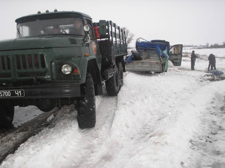 На Запоріжжі за тиждень зі снігового полону вивільнили майже 700 людей (ФОТО)