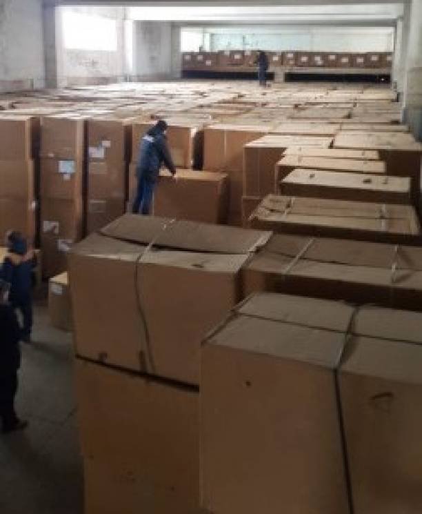 На Дніпропетровщині виявили підпільний цех з виробництва цигарок (ФОТО)