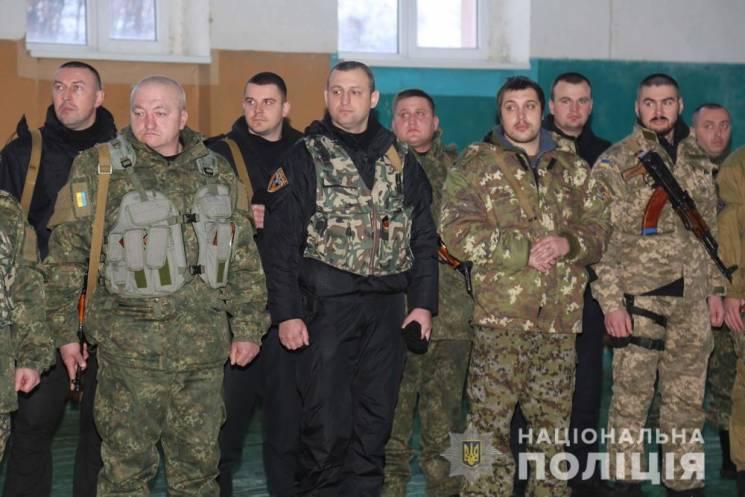 Вінницькі поліцейські повернулися з відрядження із зони ООС
