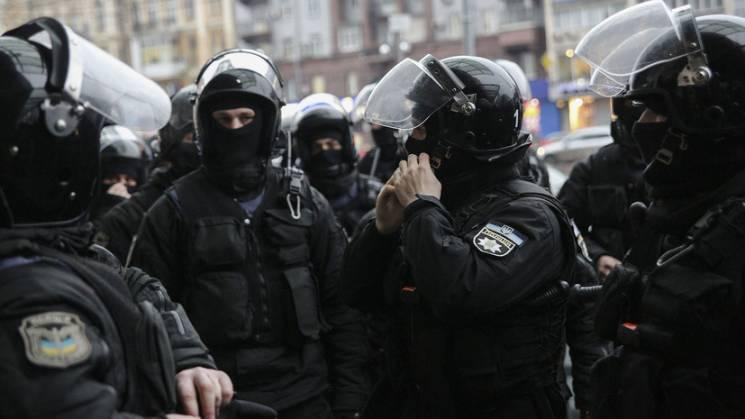 У Києві невідомі блокували роботу одного з підрозділів Нацполіції