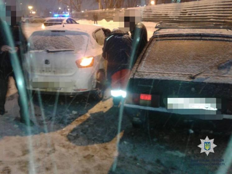 У центрі Харкова не поділили дорогу два легковика: Постраждала жінка (ФОТО)