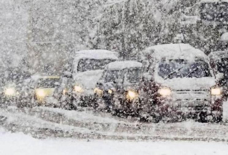 Штормове попередження: На Закарпатті очікуються сильні снігопади