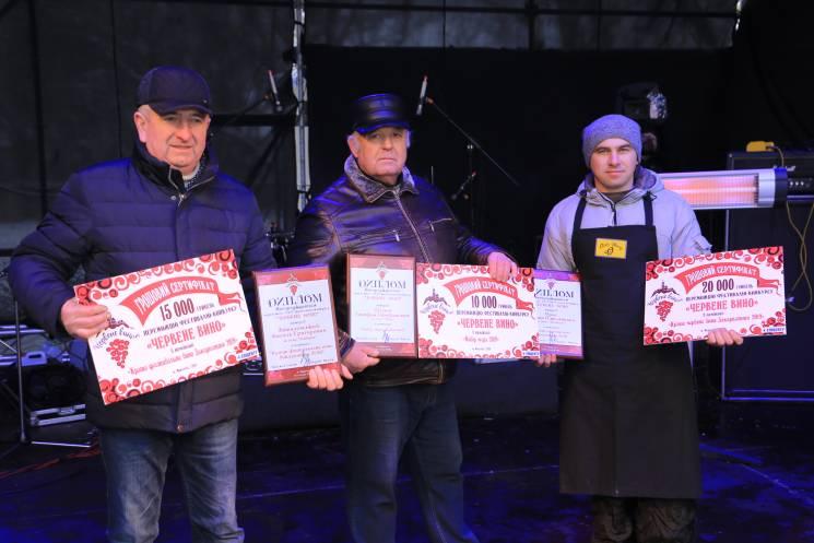"""На """"Червеному вині"""" обрали найкращих виноробів фестивалю (ФОТО)"""