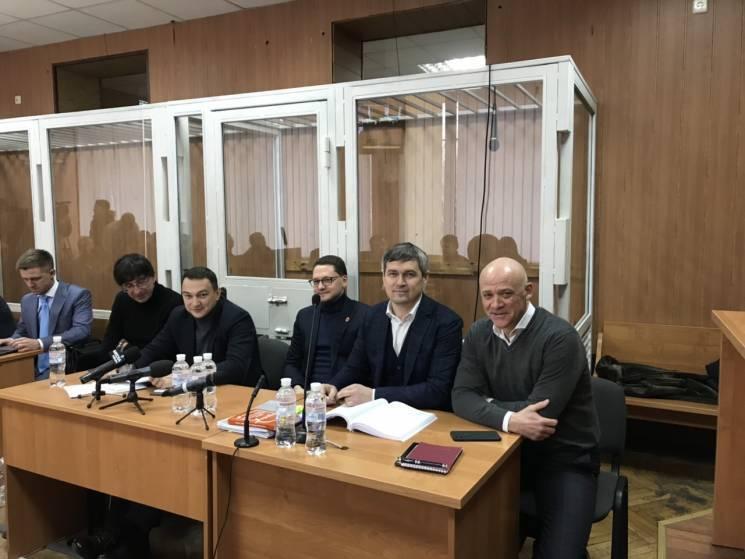 """В Одесі продовжують судити Труханова та інших фігурантів справи """"Краяну"""""""