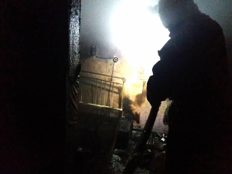 На Полтавщині спалахнув приватний житловий будинок