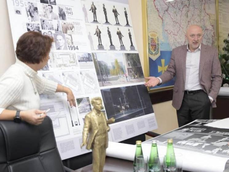 У Полтаві обговорили, як виглядатиме скульптура видатному архітектору Леву Вайнгорту