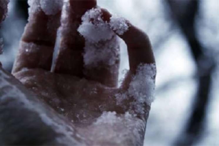 Мороз вбив 17 запоріжців