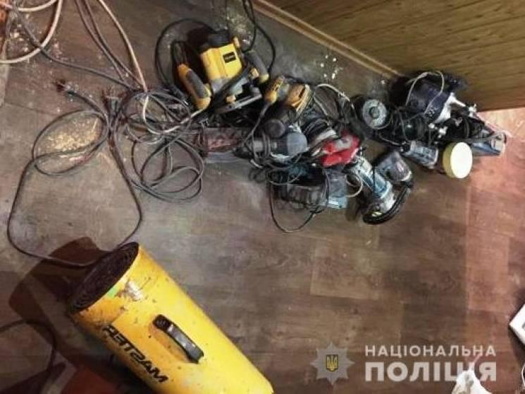 На Запоріжжі зловили групу серійних крадіїв (ФОТО)