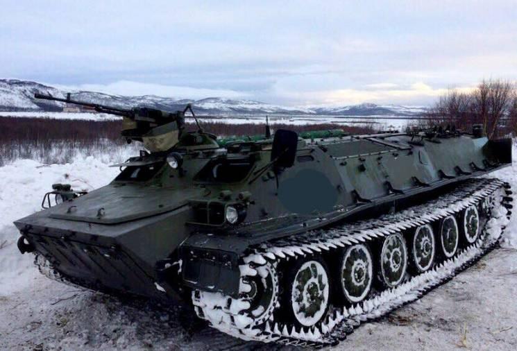 У штабі ООС розповіли подробиці підриву російського бронетранспортера на Донбасі
