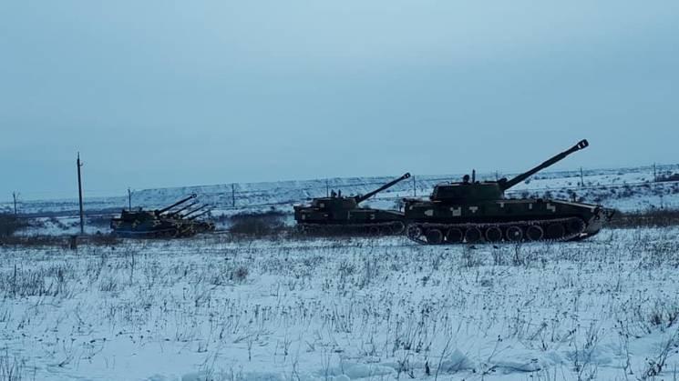 Як у Кривому Розі гатила артилерія (ВІДЕО)
