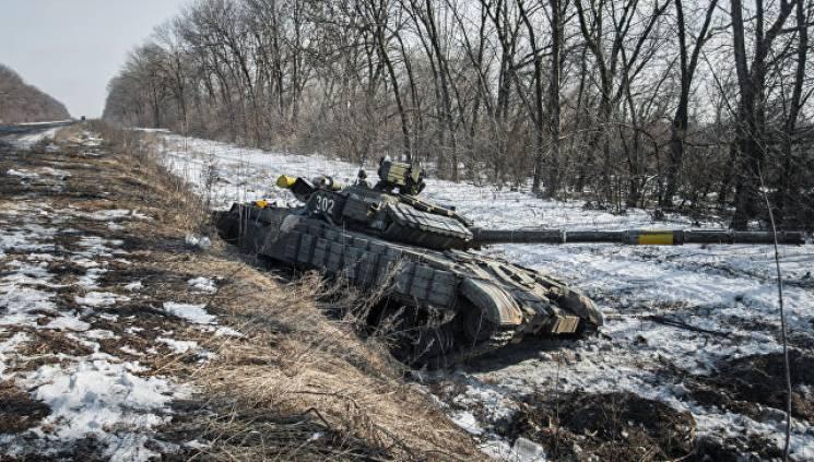 Победы недели в ООС: Сожженая бронетехника и почти полсотни выведенных из строя боевиков