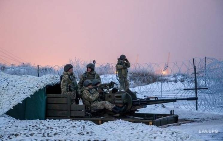 Доба в ООС: Окупанти стріляли двічі, важкої зброї не застосовували (КАРТА)