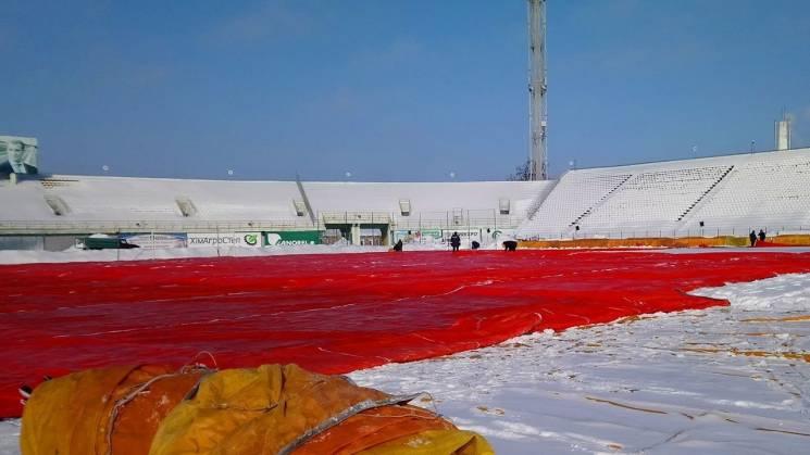 Полтавський стадіон вже готують до перши…