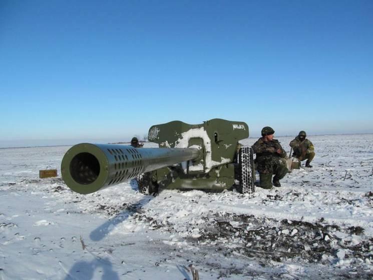 ЗСУ подавили ворожу мінометну батарею, знищили зенітку і двох окупантів