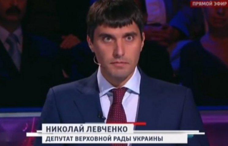Побитый нардеп Левченко в кремлевский рупор сравнил себя с Сахаровым