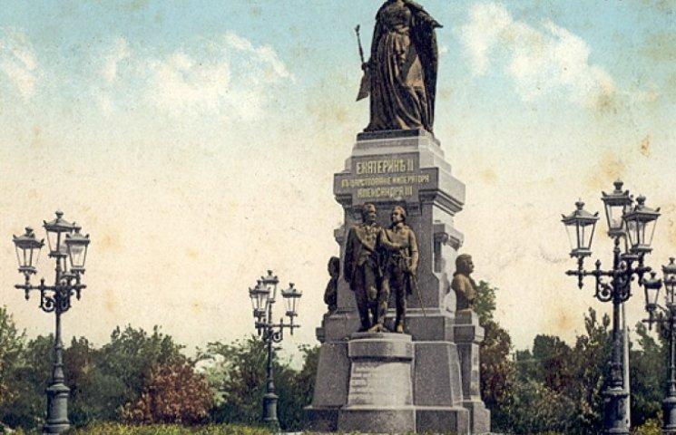 Церетели просят восстановить памятник Екатерине II, выжившей из Крыма татар