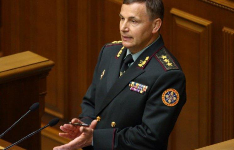 Министр обороны Гелетей так и не подписал присягу (ДОКУМЕНТ)