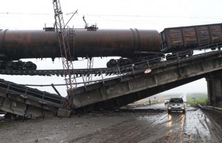 Террористы угробили инфраструктуру на Донбассе на 1 млрд грн