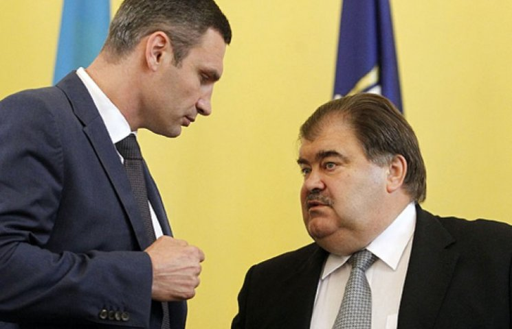 Экс-мэр Киева Бондаренко «наехал» на Виталия Кличко