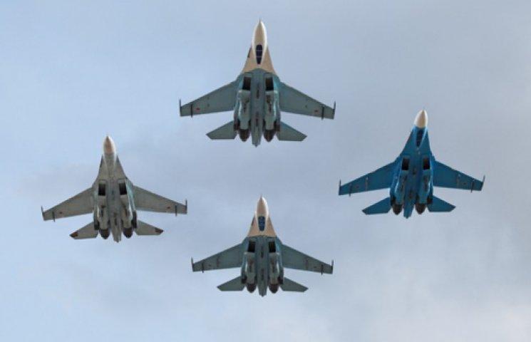 Уральские бомбардировщики и сибирские истребители летят к Черному морю