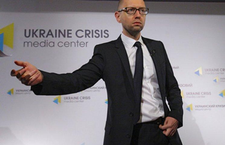 Яценюк готовит санкции против России и ее граждан, поддерживающих боевиков