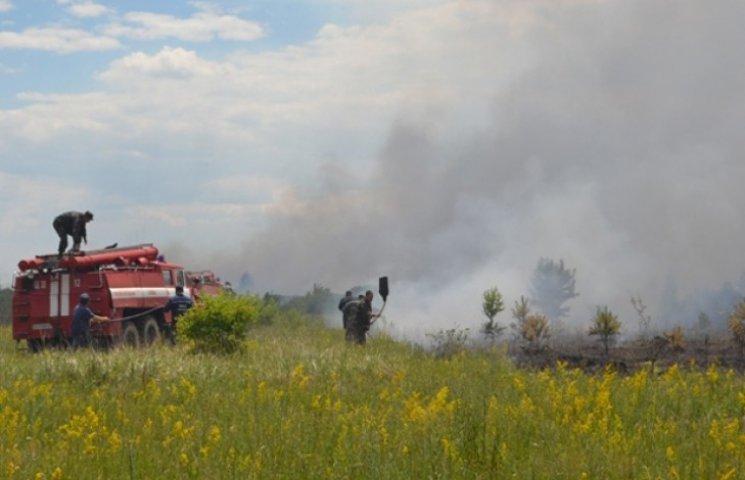 З початком спеки на Cумщині посилили заходи з попередження пожеж в екосистемах