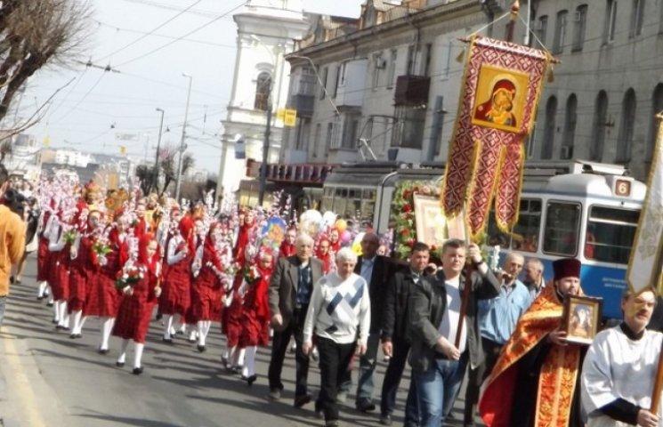 Вінницькі паломники розпочали 5-денну Хресну ходу