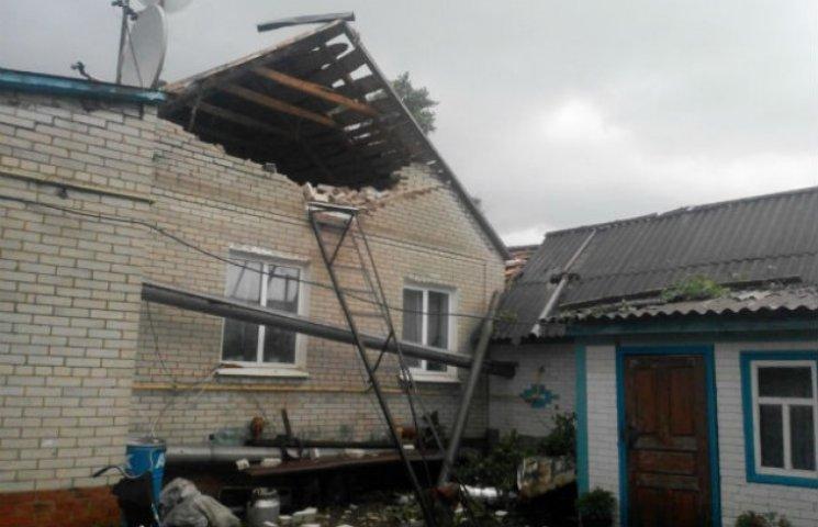 Смерч на Сумщині позносив покрівлі з будинків, понищив дерева та пообривав провода (ФОТОФАКТ)