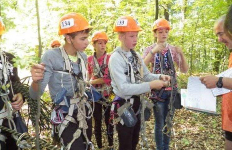 Три дні поспіль на Закарпатті змагалися юні туристи (ФОТО)