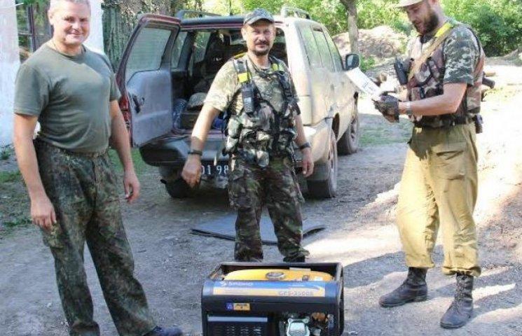 Ужгородці забезпечили захисників Артемівська безперебійним електроживленням (ФОТО)