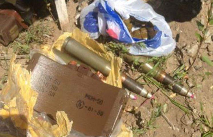 Під Лисичанськом знайшли арсенал зброї в руїнах заводу (ФОТО)