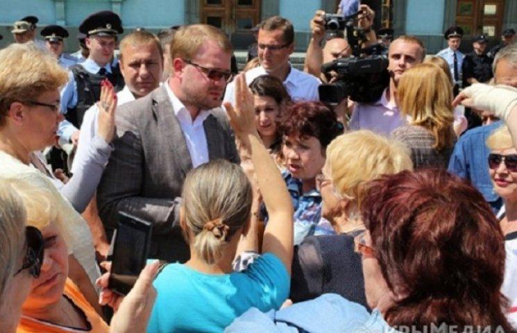 """Кримський """"Гоблін"""" побачив """"вуха"""" Яценюка в ринковому бунті в Сімферополі"""